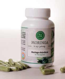 Moringa 60 kapslí - veganské kapsle