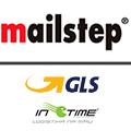 Kurýrní přepravní služby společnosti MailStep (GLS, InTime)